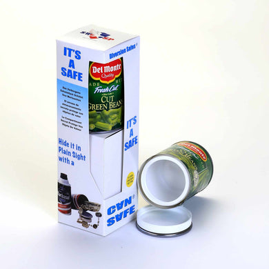 Small Del Monte Vegetable Concealment Can Diversion Safe Stash Safe - Concealment Cans Hidden Safe