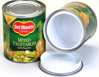 Large Diversion Safe Del Monte Mixed Vegetables