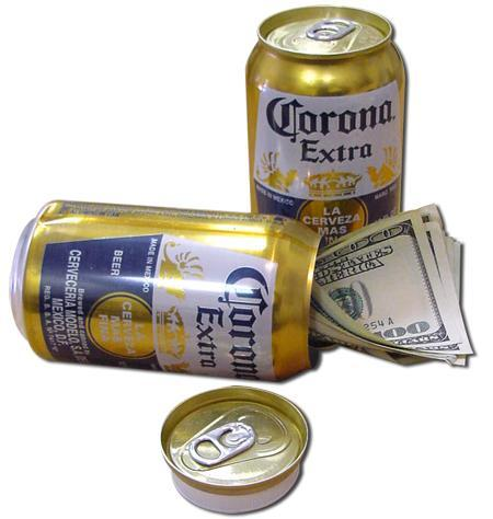 Corona Beer Can Concealment Diversion Safe Hidden Beer Stash Safe - Concealment Cans