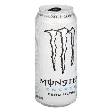 White Monster Energy Zero Ultra Concealment Can Diversion Safe Stash Can - Concealment Cans