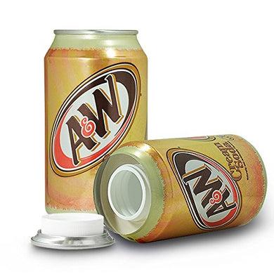 A&W Cream Soda Concealment Can Diversion Safe Stash Can - Concealment Cans