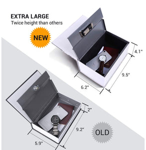 EXTRA LARGE New York Book Safe Hidden Compartment XL Hollow Book - Concealment Cans