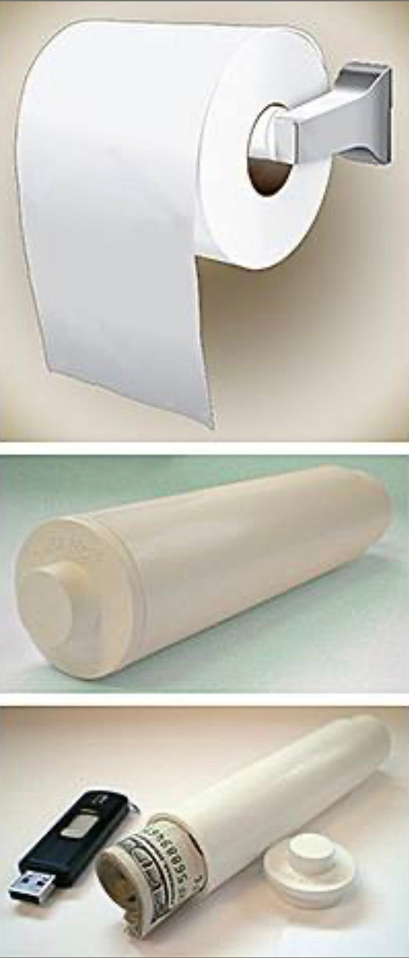 Toilet Paper Hidden Roll Diversion Safe - Concealment Cans