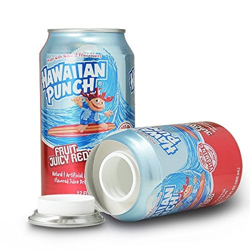 Hawaiian Punch Concealment Diversion Safe Can Stash Safe - Concealment Cans