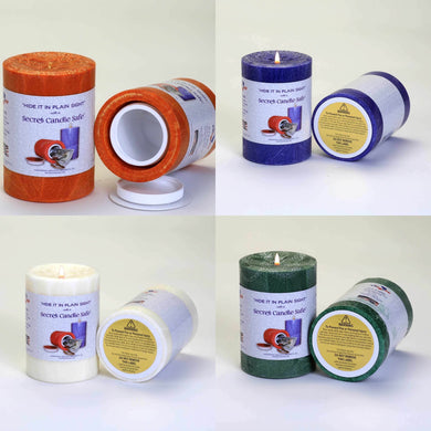 Candle Concealment Diversion Safe Hidden Stash Safe Hidden Safe - Concealment Cans