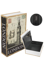 Load image into Gallery viewer, London Book Safe Hidden Compartment Hollow Book - Concealment Cans Hidden Safe