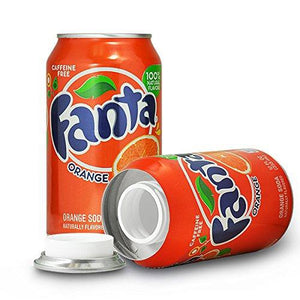 Fanta Concealment Can Soda Diversion Stash Safe in Orange or Grape - Concealment Cans Hidden Safe