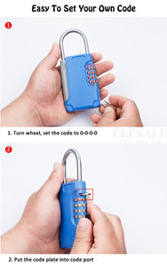 High Quality 4 Digital Password Combination Lock Hidden Compartment - Concealment Cans Hidden Safe