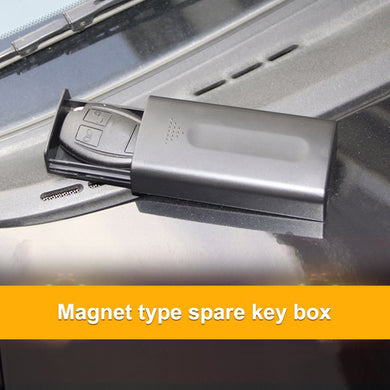 Powerful Magnet Hidden Key Box Diversion Safe Secret Stash Safe - Concealment Cans