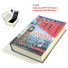 Load image into Gallery viewer, Book Safe With Key Lock Hidden Concealment Diversion Safe Stash Safe - Concealment Cans