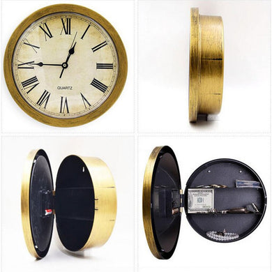 Stash Clock Wall Clock Stash Safe Concealment Clock Hidden Safe - Concealment Cans