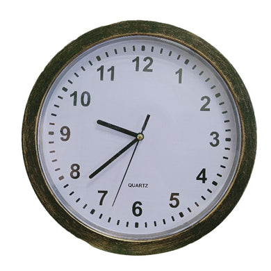 Wall Clock Concealment Hidden Diversion Safe (Bronze or Silver) - Concealment Cans