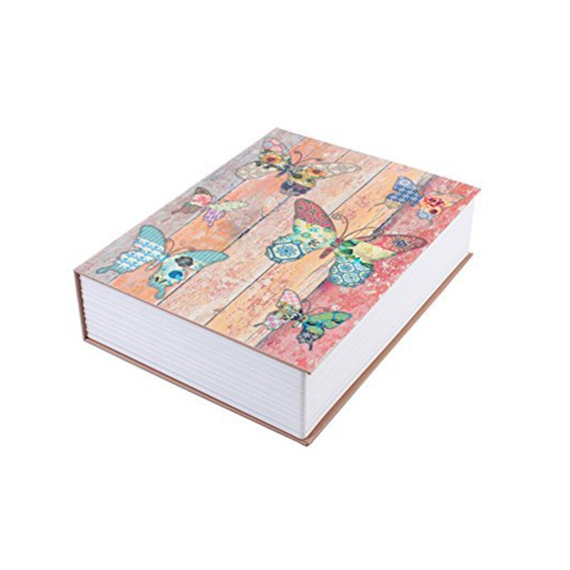 Colorful Book Safe Box Diversion Safe Stash Safe - Concealment Cans Hidden Safe