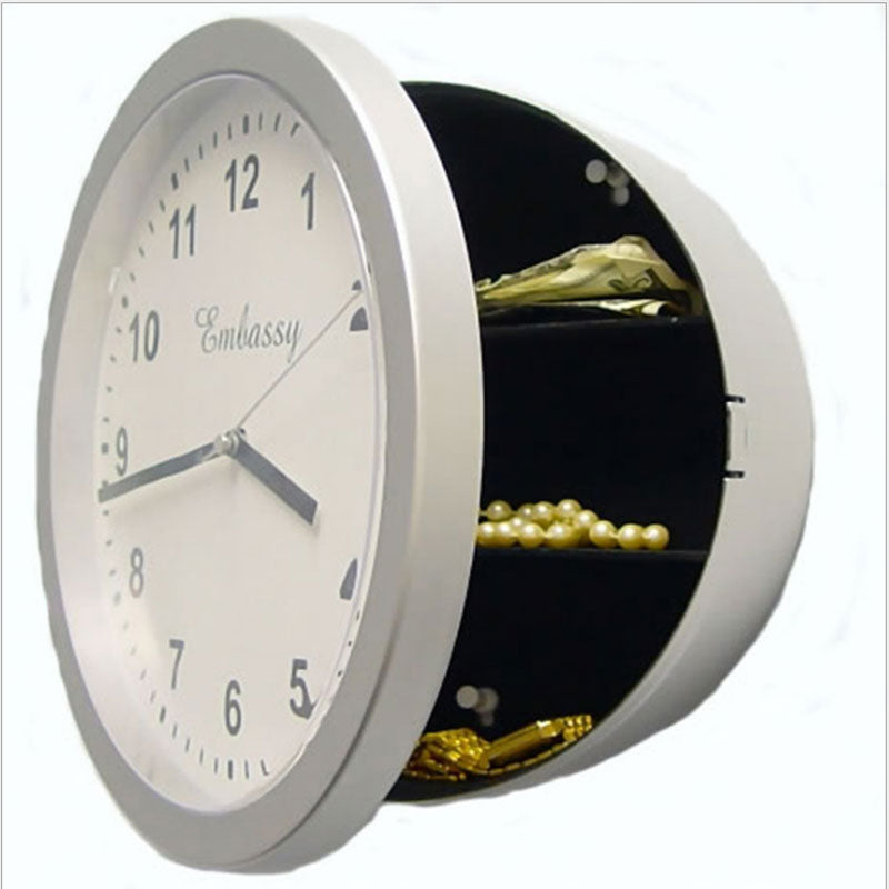 Wall Clock Concealment Diversion Safe to Stash Your Cash and Jewelry Discreetly - Concealment Cans Hidden Safe