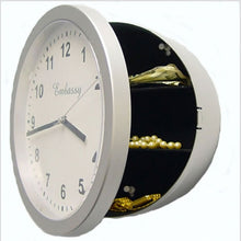 Load image into Gallery viewer, Wall Clock Concealment Diversion Safe to Stash Your Cash and Jewelry Discreetly - Concealment Cans Hidden Safe