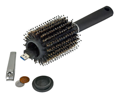 Hair Brush Stash Safe Concealment Diversion Safe - Concealment Cans Hidden Safe