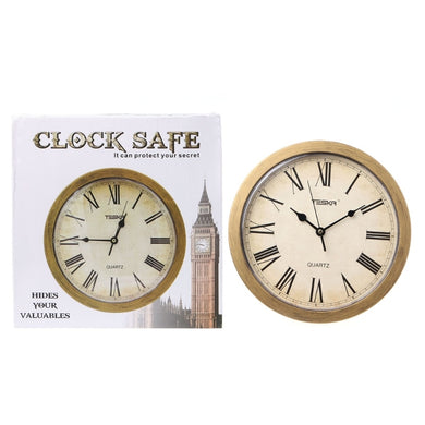 The Classic Style Concealment Wall Clock Secret Diversion Stash Safe for your Money and Jewelry Discreetly Stored - Concealment Cans