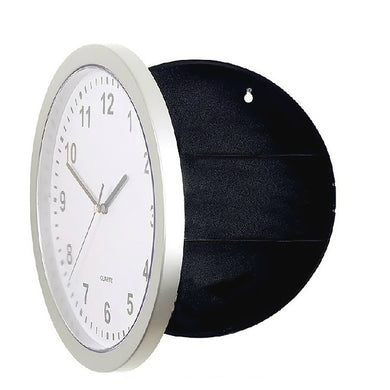 Behogar Concealment Wall Clock Diversion Safe Stash Safe - Concealment Cans Hidden Safe