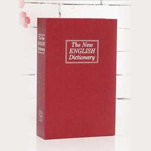 Dictionary Concealment Book Diversion Safe Stash Safe - Concealment Cans Hidden Safe