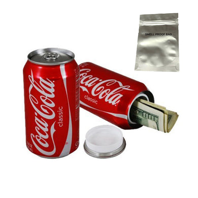 Coca-Cola Concealment Coke Soda Can Diversion Safe Stash Can - Concealment Cans Hidden Safe