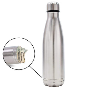 Aluminum Water Bottle Concealment Diversion Safe Stash Stainless Steel Tumbler - Concealment Cans Hidden Safe