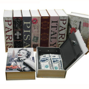 Book Concealment Stash Safe Boxes Assorted Books Diversion Safes - Concealment Cans Hidden Safe