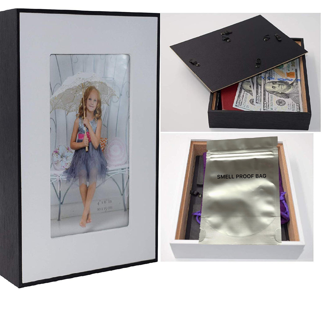 Picture Frame Concealment Hidden Diversion Safe Stash Safe - Concealment Cans Hidden Safe