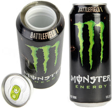 Load image into Gallery viewer, White Monster Energy Zero Ultra Concealment Can Diversion Safe Stash Can - Concealment Cans Hidden Safe