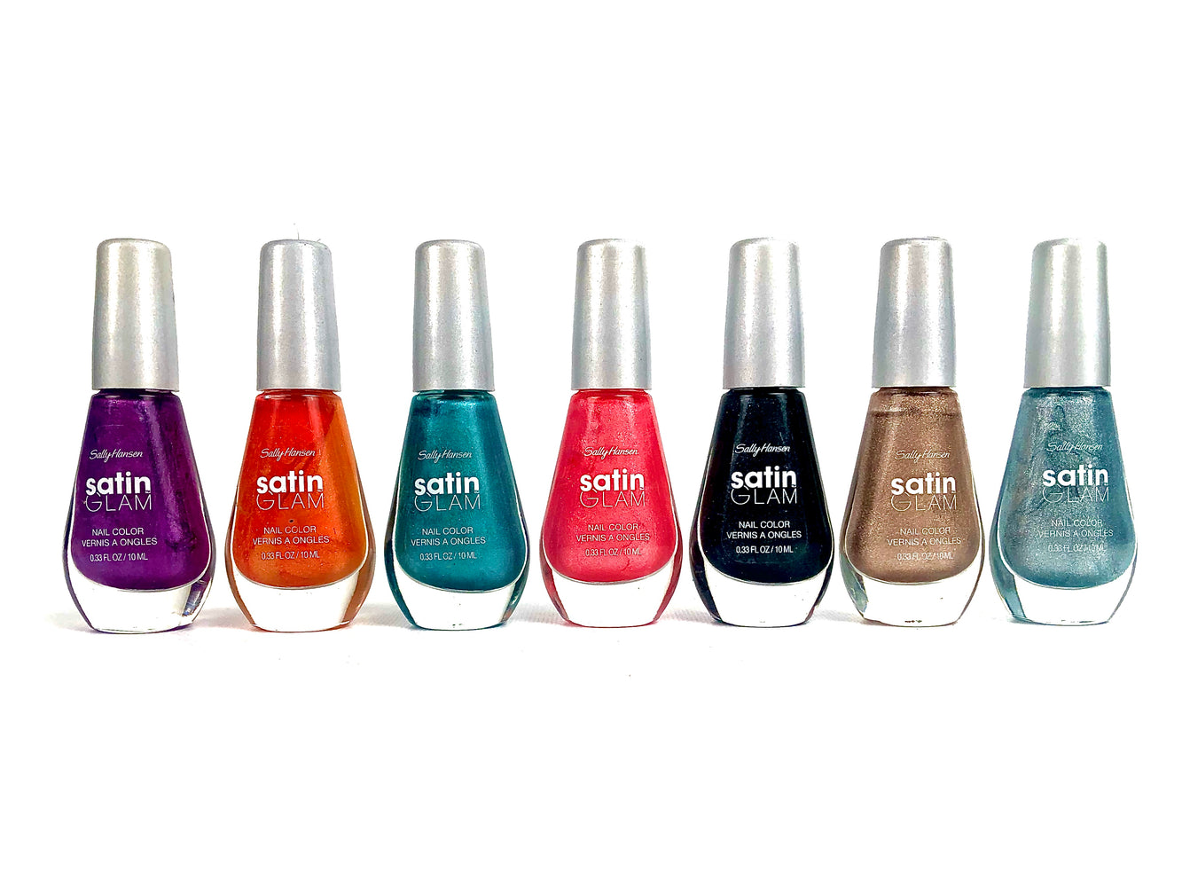 Sally Hansen Satin Glam Nail Color 50 piece count