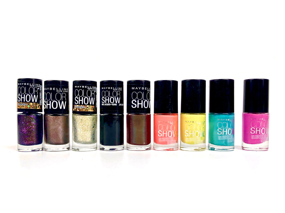 Maybelline Color Show Nail Polish (50 Pcs Box)