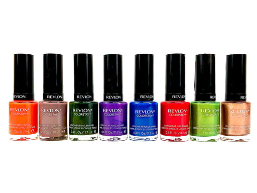 Revlon Colorstay Nail Polish, Assorted Colors (50 Pcs Box)