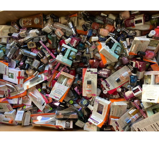 Assorted Sally Hansen Nail Mix: Nail Polish, Treatments (2500 Pcs Box)