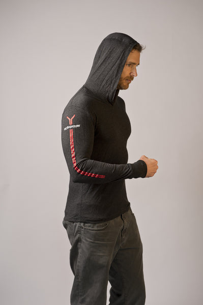 Men's Long Sleeve Hoody
