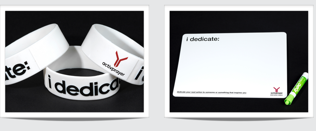 Basic Toolkit - iDedicate Wristband & Whiteboard
