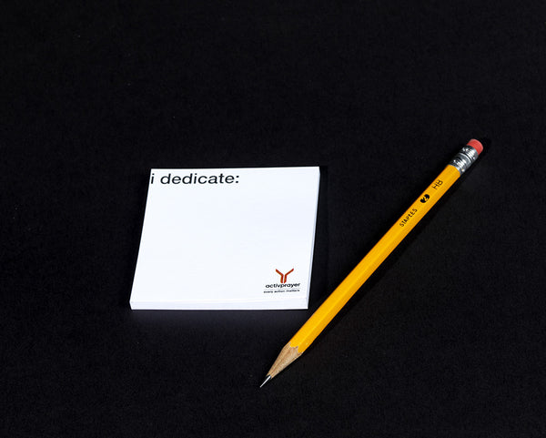 iDedicate Post-it Notes - 250 pack