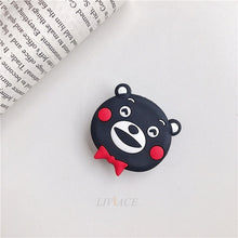 Load image into Gallery viewer, 3D cartoon fold finger grip mobile phone holder for iphone samsung xiaomi huawei case cute silicone holder stand bracket