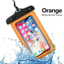 Load image into Gallery viewer, current Waterproof Case For iPhone X 8 7 6s Plus Cover Pouch Bag Case For Huawei Redmi Coque Water proof Phone Case For Android