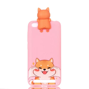 For Xiaomi Redmi 5A Case Cover Soft Silicone Colored Phone Cover Case For Xiomi Redmi 5A a5 5.0 Phone Back Fundas Redmi 5A Case