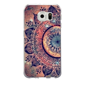 For Funda Samsung S6 Case Silicone TPU Cover For Galaxy S6 Capa Mobile Phone Case For Coque Samsung Galaxy S6 S 6 Back Cover Bag