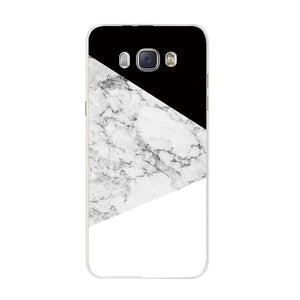 THREE-DIAO For Funda Samsung Galaxy J5 2016 J510F Cover Painted Back Protective Phone Case For Coque Samsung J3 J5 J7 2016 2017