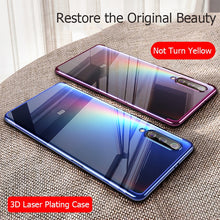 Load image into Gallery viewer, MUCHI For Xiaomi Mi A3 Case Luxury Laser Plating Soft Clear Back Cover For Xiaomi Xiomi Mi A3 A 3 MiA3 Phone Cases