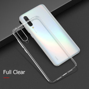 MUCHI For Xiaomi Mi A3 Case Luxury Laser Plating Soft Clear Back Cover For Xiaomi Xiomi Mi A3 A 3 MiA3 Phone Cases
