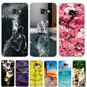 Case for Samsung Galaxy A3 2016 Case Cover for Samsung A3 2016 Case Silicone Cover 3D TPU Soft Funda for Samsung A3 A310F Coque