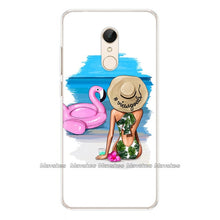 Load image into Gallery viewer, Soft Silicone Case For Xiaomi Redmi 5 Case Cute Cartoon Printing Phone Cover on For Redmi 5 Plus Redmi5 Coque Soft TPU Funda