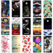 Load image into Gallery viewer, Phone Cases For Xiaomi Redmi 3 Pro 3s Redmi 3s Cover 3D Silicon Phone Back Cover for Xiaomi Redmi 3 Pro Case Redmi 3 S Pro Case