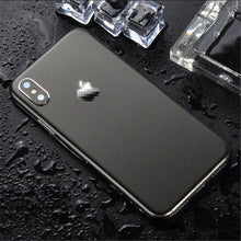 Load image into Gallery viewer, Ice Surface For iPhone 7 8 X XS XR Back Film Thin Screen Protector Protective Stickers Cover Color Paster Rear Decorative Film
