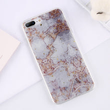 Load image into Gallery viewer, Lovebay Gold Foil Bling Marble For iPhone 11 Pro Max X XS Max XR Phone Case Soft TPU Cover For iPhone 7 8 6 6s Plus Glitter Case