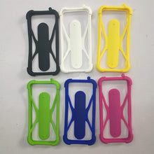 Load image into Gallery viewer, Beatiful Soft Silicone Universal Phone Bumper Frame Case with Holder for Samsung iPhone