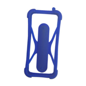 Beatiful Soft Silicone Universal Phone Bumper Frame Case with Holder for Samsung iPhone