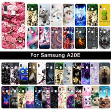 Load image into Gallery viewer, Luxury Cases For Samsung Galaxy A20E A20 E Soft TPU Silicone Floral Animal Patterned Protective Cover Phone Cases Shells Fundas